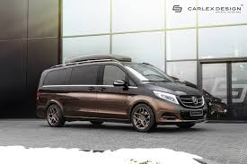 lifted mercedes van carscoops mercedes v class