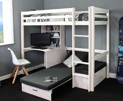 High Sleeper Bed With Desk And Sofa Thuka Hit 8 Highsleeper Rainbow Wood