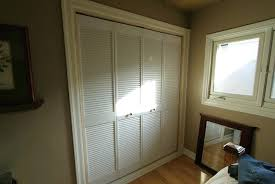 Vented Bifold Closet Doors Louvered Bifold Closet Doors Medium Size Of Closet Doors