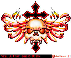 skull and cross design by england9 on deviantart