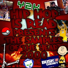 samples of the year 2000 hip hop is read