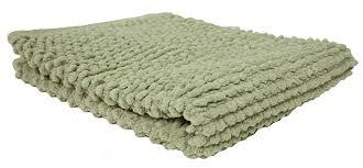Olive Green Shag Rug Amazon Com J U0026 M Home Fashions Popcorn Bath Rug 22 Inch By 30