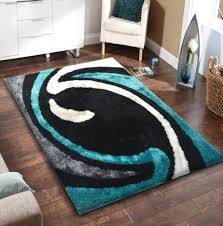 Brown And Black Rugs Gray And Turquoise Rug