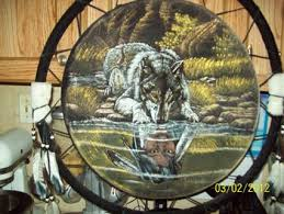 free a dreamcatcher with wolf and indian home decor listia
