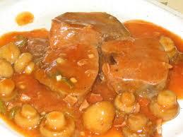 cuisiner la langue de veau langue de boeuf sauce piquante photo de les plats réalisés la