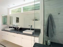 Toilet Partitions And Washroom Accessories Coastline Specialties Light Airy Contemporary Bathroom Floating Vanity Transom