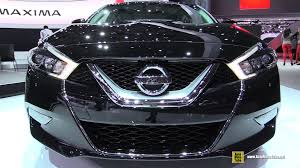 2016 nissan maxima youtube 2016 nissan maxima sv exterior and interior walkaround debut