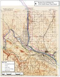 Yakima Washington Map by Usgs Pasco 1914 Plusroutes Jpg