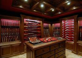 Built In Gun Cabinet Plans Top 100 Best Gun Rooms The Firearm Blogthe Firearm Blog