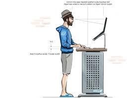 Locus Standing Desk Ergonomic Standing Desk Calculator Height Position Esnjlaw Com