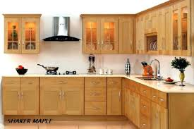 light maple shaker cabinets natural shaker cabinet maple kitchen cabinets ramanations com