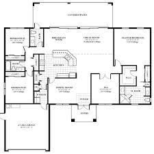 single house floor plans tiny house plans homes 3 bedroom single storey family