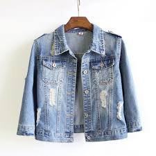 light blue cropped jean jacket women plus size cropped jean jacket light blue short denim jakcets