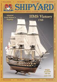 hms victory 1 96 shipyard mk002 paper model paper models