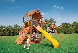 Backyard Playground Slides Basketball Goals Swing Sets Backyard Specialists Olathe Ks