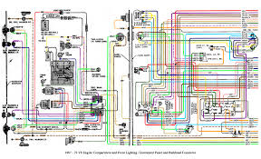 color wiring diagram finished the 1947 present chevrolet u0026 gmc