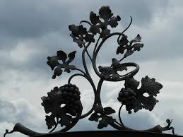 wrought iron accessories ornamental steel parts