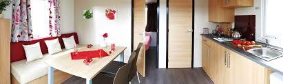 Landes Dining Room Rental Mobile Home Resasol 1 Ch 2 4 Pers France Landes Camping