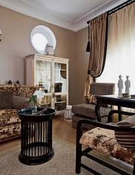 Traditional Home Decor Style For Large Apartment Decorating In Moscow - Traditional apartment design