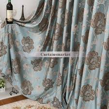 Shower Curtain Blue Brown And Brown Curtains Made Of Polyester Fabric
