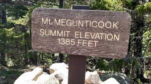 Interior Signs Trail Camden Hills State Park Interior Trail Network Maine Trail Finder