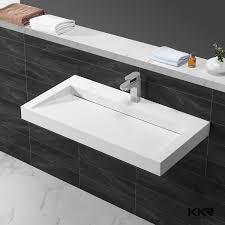Narrow Rectangular Bathroom Sink Long Narrow Rectangular Basins Wash Long Narrow Rectangular