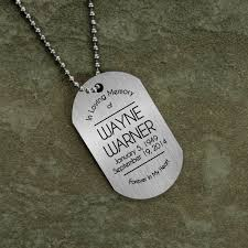 loving memory dog tag