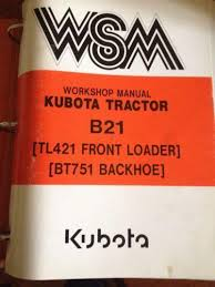 kubota service manual ebay