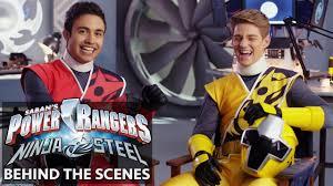 film ninja dancing power rangers ninja steel meet the cast red and yellow dance