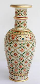 buy home decor items online india home decor handicrafts marble vases gold painted online home