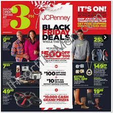 walmart ads for thanksgiving jcpenney black friday ad and printable list is here