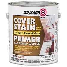 zinsser 1 gal 100 voc cover stain oil base interior exterior