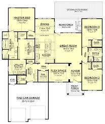 Dual Master Bedroom Floor Plans Cottonwood House Plan Glass Shower Enclosures Craftsman Style