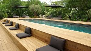 Small Backyard Above Ground Pool Ideas Above Ground Pool Deck Plans Interesting Above Ground Swimming