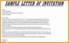 7 example of an invitation letter musicre sumed