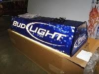 bud light pool table light bud light pool table light