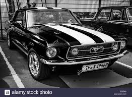 black mustang pony car ford mustang gt generation black and white 27th