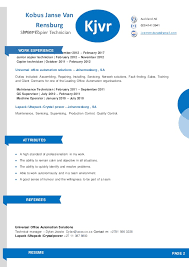 copier technician resume kobus janse van rensburg resume u0026 cv