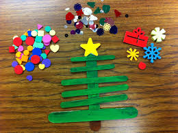 holiday craft craft stick christmas trees scholastic