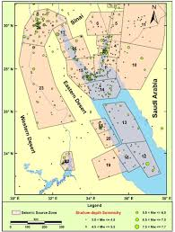The Red Sea Map An Updated Seismic Source Model For Egypt Intechopen