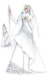 kebaya dan gaun pengantin muslim muslim kebaya and fashion drawings