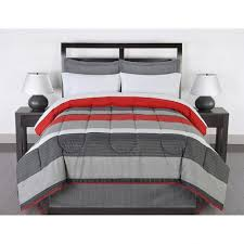 Gray And Red Bedroom by Bedroom Mens Comforter Sets Red And Gray Set King Gray And Red