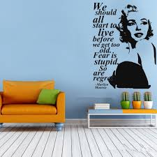popular easy walls wallpaper buy cheap easy walls wallpaper lots sexy marilyn monroe wall decal stickers home decor easy removable sticker waterproof wallpaper princess decroom mural