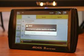 review archos 5 internet tablet with android techcrunch