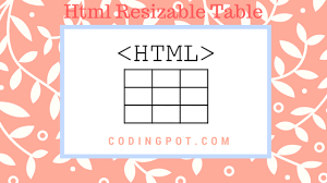 angularjs resizable table columns html resizable table in angularjs codingpot programming blog