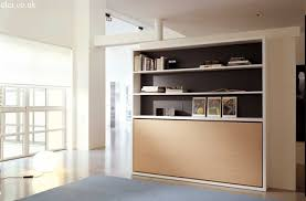 Fold Away Desk by Poppi Horisontal Fold Away Wall Bed With Desk On Request