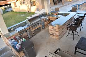 backyard patio with kitchen ideas this and custom back yard