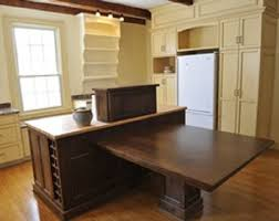 kitchen island with table extension island kitchen table michigan home design