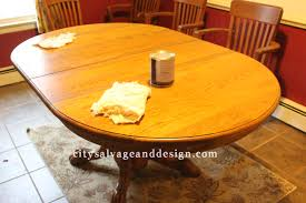 furniture interesting wooden dining table using general finishes