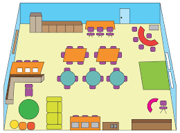 Floor Plan For Preschool Classroom by Elements Of A Literacy Rich 21st Century Classroom